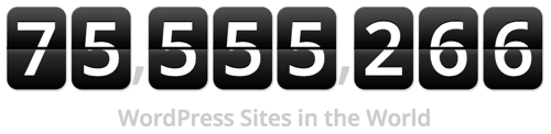 Wordpress website counter